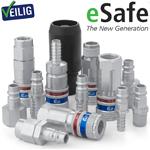 Pneumatiek eSafe ARBO snelkoppeling